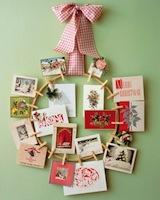 DIY Martha Stewart Card Wreath