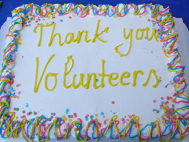 ThankYouVolunteers